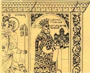 Η αρχική μορφή του Καθολικού της Μεγίστης Λαύρας